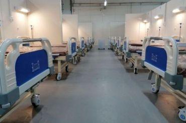 Госпиталь в «Ленэскпо» непринимает пациентов из-за отсутствия лицензии