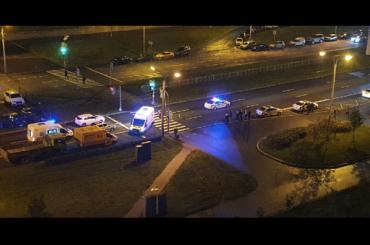 Водитель вовремя бегства отсотрудников ДПС сбил велосипедиста