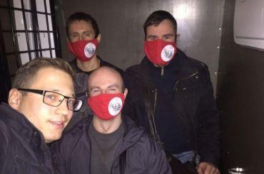 Лидер «другороссов» задержан заодиночный пикет уконсульства Турции