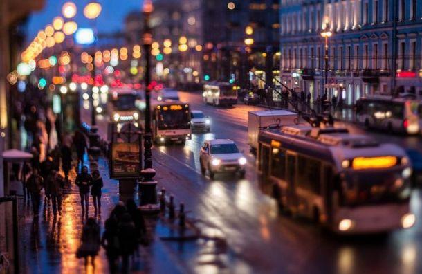Петербург вошел впятерку городов мира поактивности наулицах вовремя пандемии