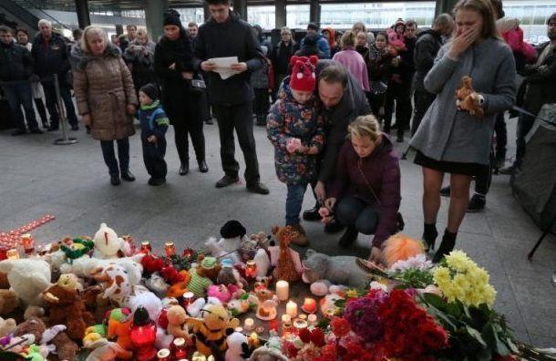 Акция впамять опогибших вавиакатастрофе над Синаем пройдет 31октября