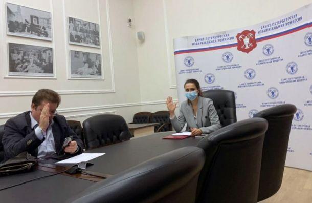 Горизбирком Петербурга временно возглавила Алла Егорова