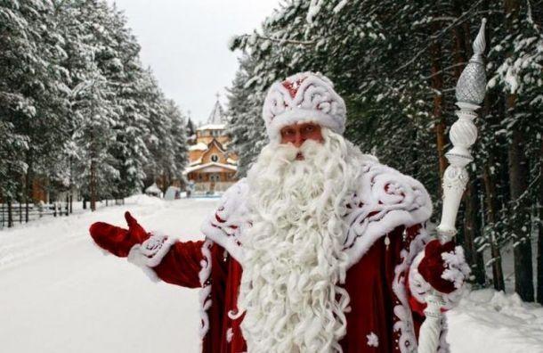 Петербуржцы вэтом году невстретятся сДедом Морозом наДворцовой