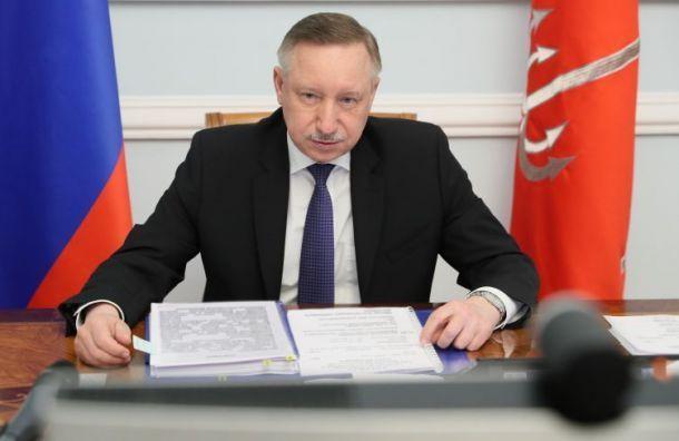 «Положение сложное»: Беглов призывает петербуржцев готовиться кновым ограничениям