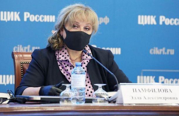 Памфилова предложить ввести вшколах недельные каникулы вовремя голосования