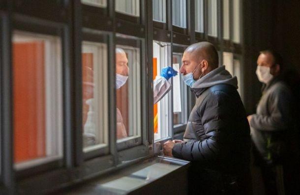 Петербуржцы смогут сдавать тесты накоронавирус круглосуточно