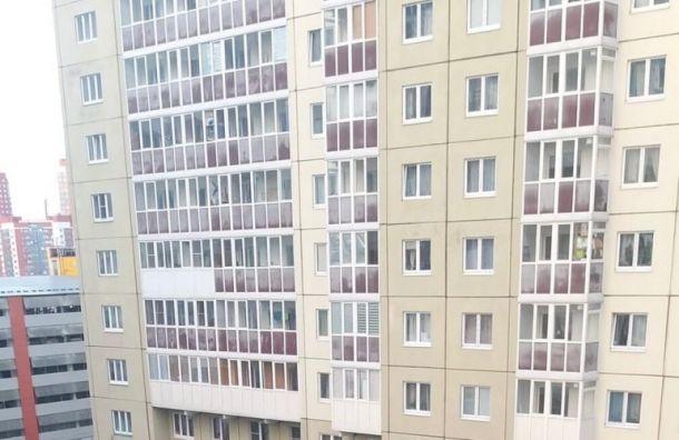 Девушка погибла после падения с16-го этажа напроспекте Героев