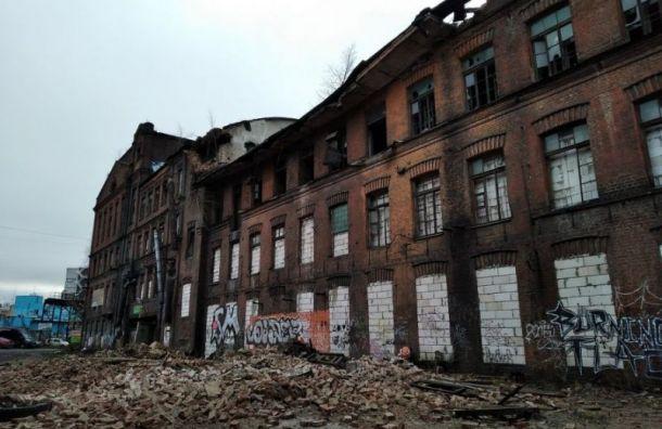 Обрушением наэкс-заводе «Красный треугольник» заинтересовалась прокуратура