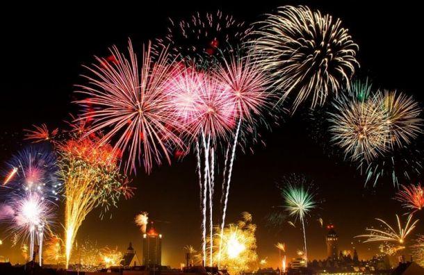Коронавирус отменил новогодний салют вПетербурге