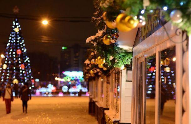 Рождественская ярмарка вПетербурге пройдет без концертов из-за пандемии