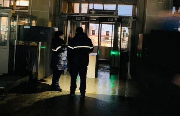 «Никого непроверяют»: Финляндский вокзал остался без света