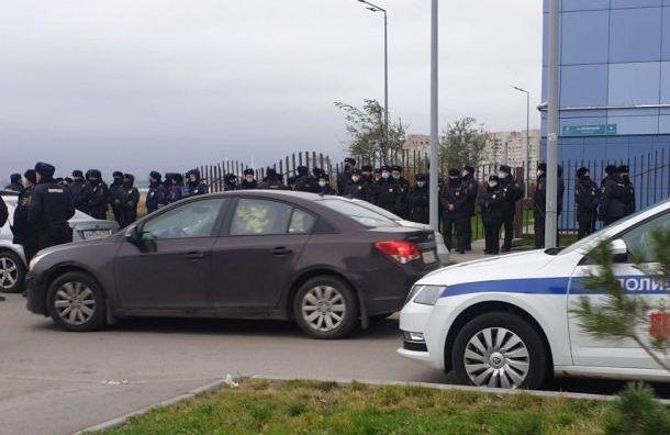 Жителям намывных территорий запретили гулять из-за визита Путина