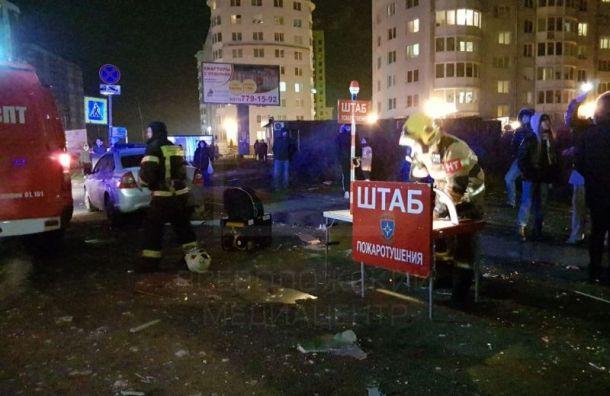 Пять квартир пострадали отвзрыва вжилом доме воВсеволожске