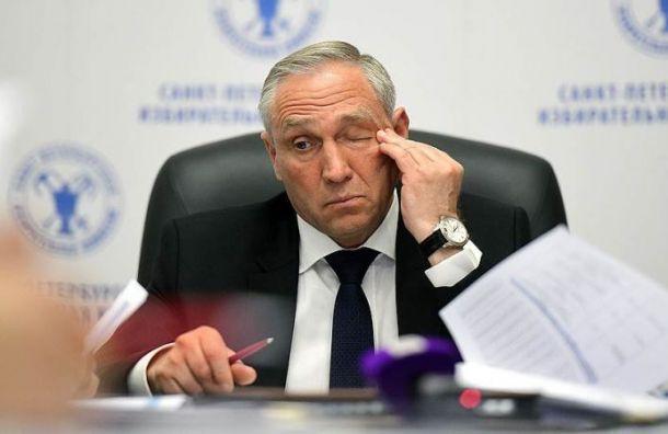 Беглов подписал отставку главы Горизбиркома Петербурга Миненко