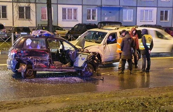 Два человека пострадали вжутком ДТП сDaewoo напроспекте Металлистов