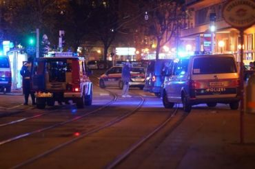 Террористы захватили заложников вресторане вВене