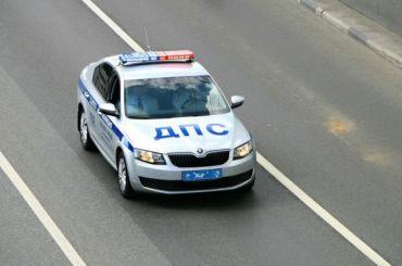 Подросток на«Жигулях» спробитыми колесами пытался скрыться отДПС