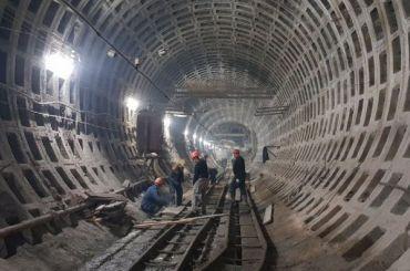 Смольный перекинул 800 млн рублей настроительство «рыжей» ветки метро