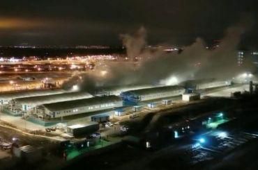 Специалисты устранили последствия взрыва трубы скислородом вКоммунарке
