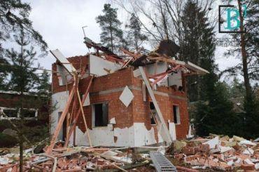 ВоВсеволожске прогремел взрыв внедостроенном двухэтажном доме