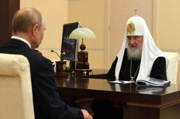 Патриарх Кирилл обратил внимание Путина насостояние Александро-Невской лавры