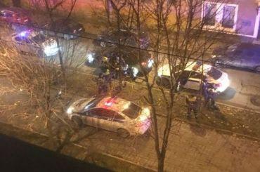 Полицейский выстрелил вводителя, который нехотел останавливаться