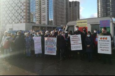 Отчаявшиеся дольщикиГК «Норман» объявили бессрочную голодовку
