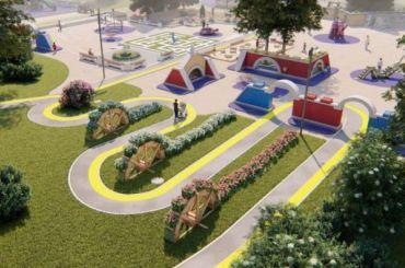 Детскую площадку в Южно-Приморском будут реконструировать целый год