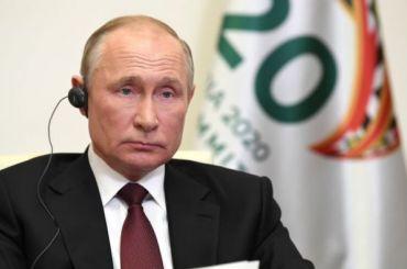 Путин назвал массовую безработицу главным риском последствий пандемии