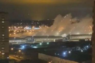 Взрыв прогремел вкоронавирусной больнице вКоммунарке