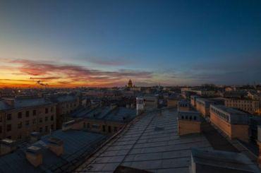 Солнце покидает Петербург из-за уходящего антициклона