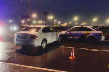 Четыре человека пострадали ваварии вКолпинском районе