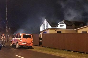 СКвозбудил дело после гибели трех человек вовремя пожара вКрасном Селе