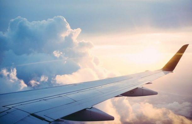 Аэропорт Пулково непринимает самолеты из-за штормового ветра иснега