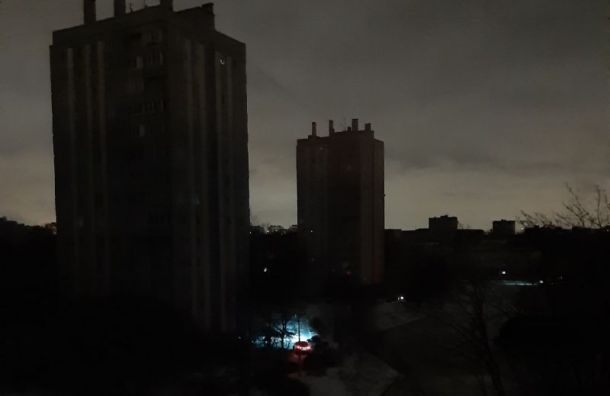 Красносельский район отрубило отэлектричества