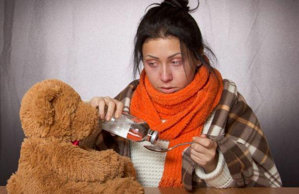 Почти 40% непривитых петербуржцев рискуют заразиться гриппом