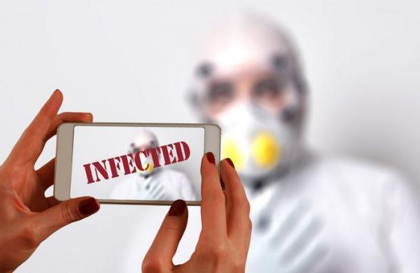 Коронавирусом вПетербурге засутки заразились 3755 человек