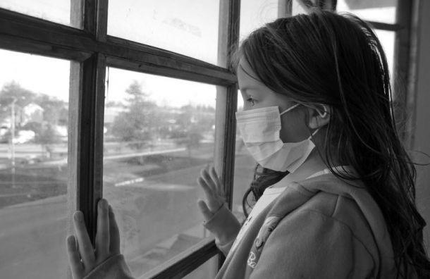 Дети сбессимптомным ковидом могут быть заразны до4 недель