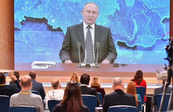Путин потребовал от чиновников резко сократить число безработных