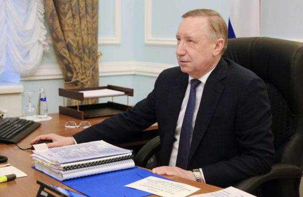 Беглов назвал ситуацию скоронавирусом вПетербурге контролируемой