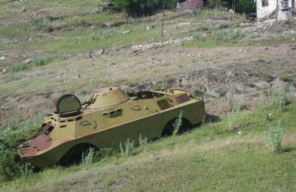 Российский офицер погиб вНагорном Карабахе