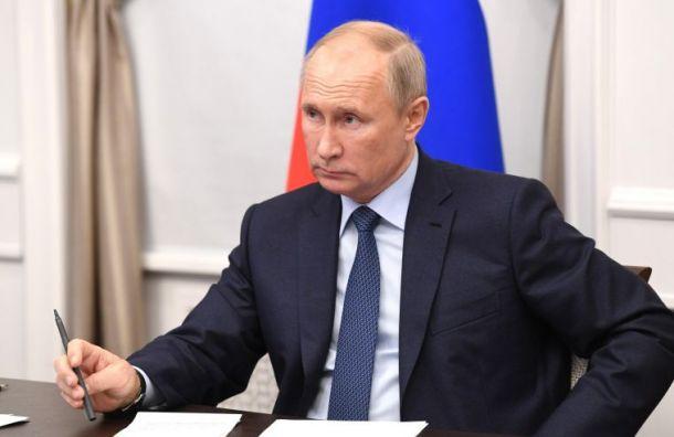 Путин поздравил Байдена спобедой напрезидентских выборах США