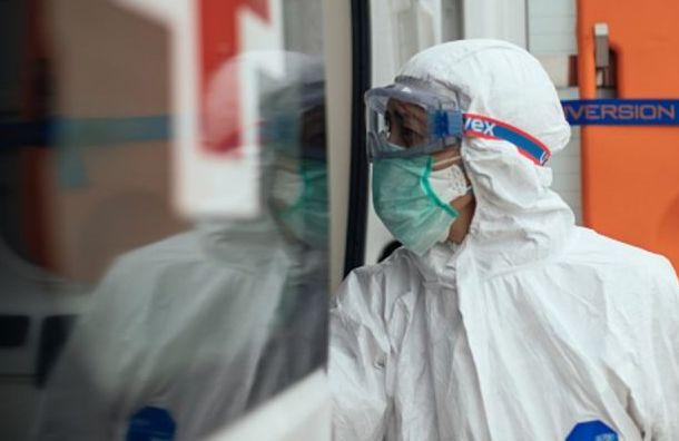 Медики внесли вфедеральный ковид-регистр еще 4158 заболевших вПетербурге