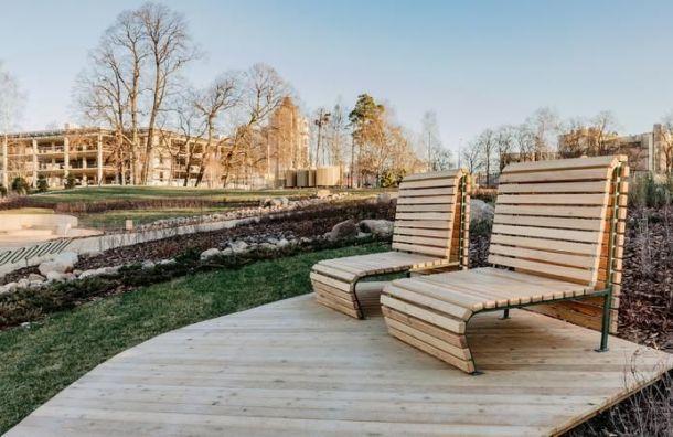 Власти Петербурга вэтом году привели впорядок 30 общественных пространств