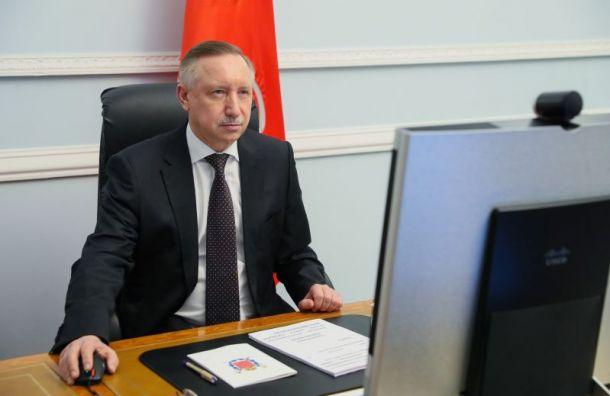 Беглов объявил 31декабря вПетербурге выходным днем