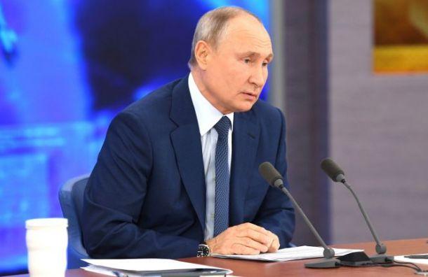 Путин— журналисту изПетербурга: Границы откроют, когда скажут врачи