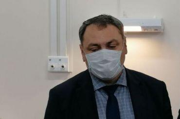Андрей Сарана привился откоронавируса