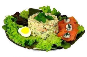Стоимость ингредиентов для 2кг салата оливье выросла загод на6,8%