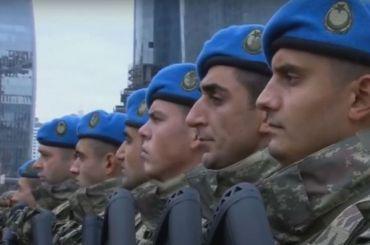 Эрдоган приехал навоенный парад вБаку, посвященный победе вКарабахе
