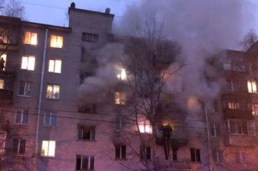 Пожилой мужчина погиб впожаре наулице Громова